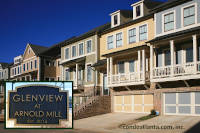 Glenview at Arnold Mill Townhomes in Milton Georgia