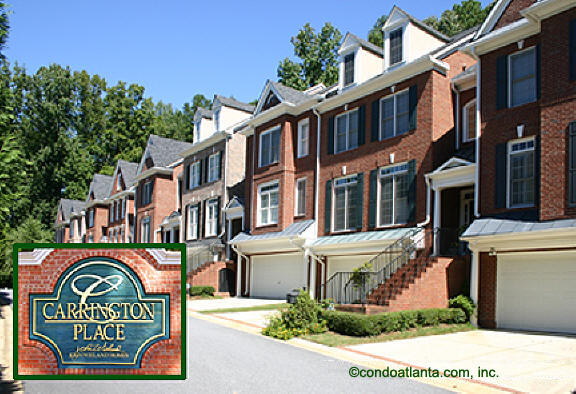 Carrington Place Townhomes in Sandy Springs Georgia