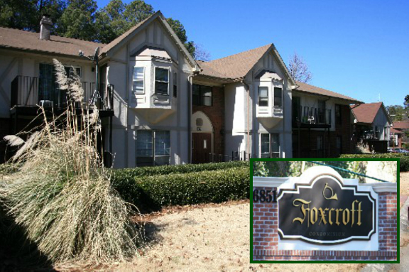 Foxcroft Condominiums in Sandy Springs Georgia