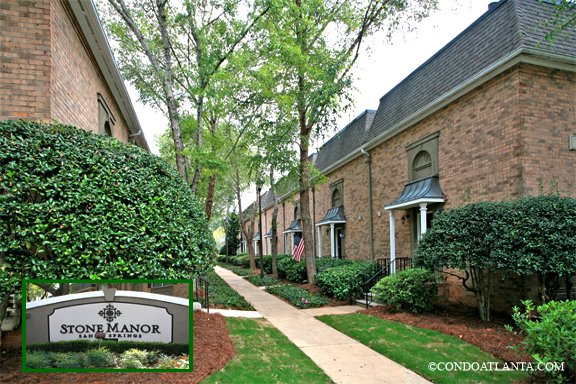 Stone Manor Townhomes in Sandy Springs Georgia