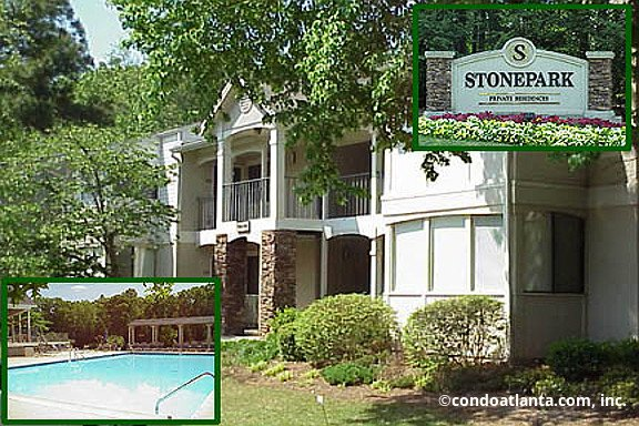 Stonepark Condominiums in Sandy Springs Georgia