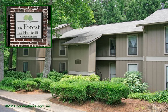 The Forest at Huntcliff Condominiums in Sandy Springs Georgia