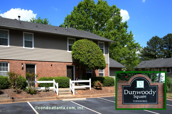 Dunwoody Square Townhomes in Sandy Springs Georgia