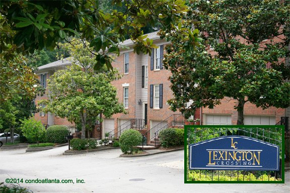 Lexington Crossing Townhomes in Sandy Springs Georgia