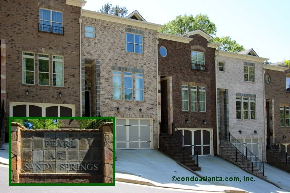 Pearl at Sandy Springs Townhomes in Sandy Springs Georgia