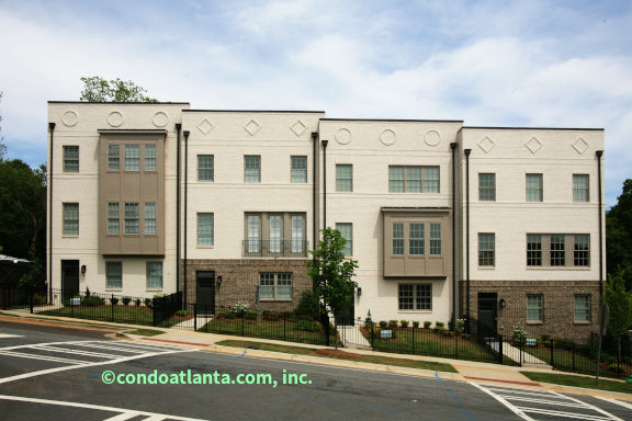 Reserve at City Center Townhomes in Sandy Springs GA