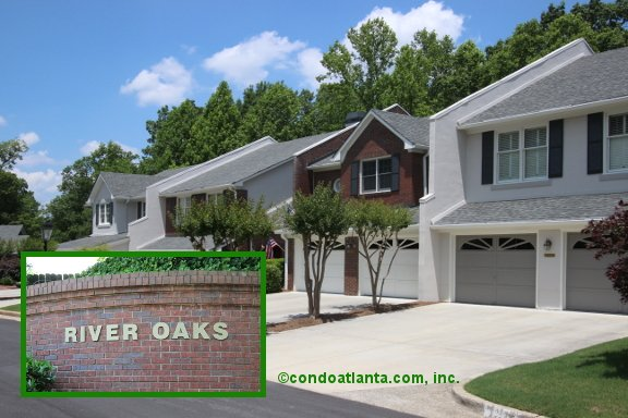 River Oaks Townhomes in Sandy Springs Georgia