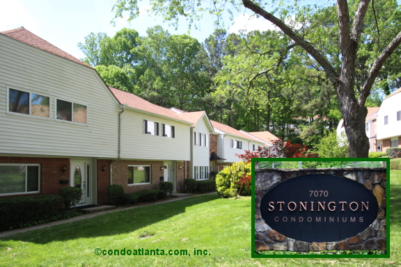Stonington Townhomes in Sandy Springs Georgia
