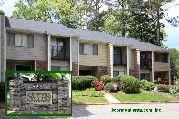 Sutters Point Townhomes in Sandy Springs Georgia