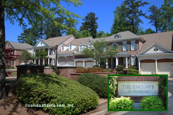 The Enclave at Glenridge Townhomes in Sandy Springs Georgia