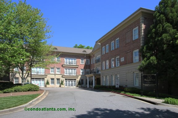 The Regent at Glenridge Condominiums in Sandy Springs Georgia