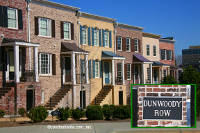 Dunwoody Row Townhomes in Sandy Springs Georgia