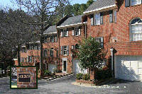 Fairfax Townhomes in Sandy Springs Georgia
