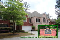 Glen Meadow Townhomes in Sandy Springs Georgia