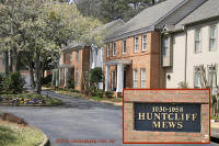Huntcliff Mews Townhomes in Sandy Springs Georgia