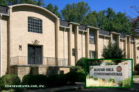 Round Hill Condominiums in Sandy Springs Georgia