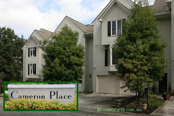 Cameron Place Townhomes in Smyrna Georgia