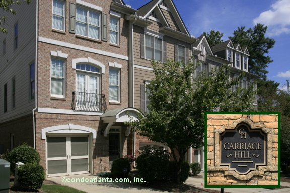 Carriage Hill Townhomes in Smyrna Georgia