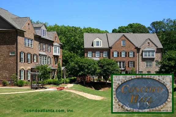 Concord Hall Townhomes in Smyrna Georgia