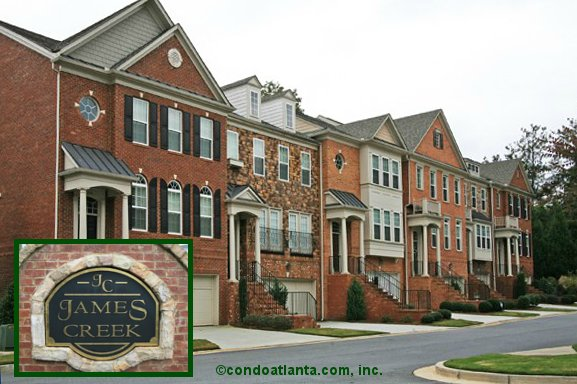 James Creek Townhomes in Smyrna Georgia