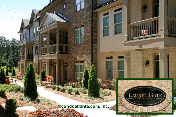 Laurel Gate Townhomes in Smyrna Georgia