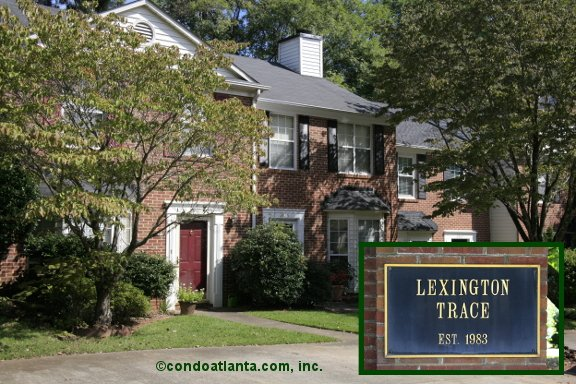 Lexington Trace Townhomes in Smyrna Georgia