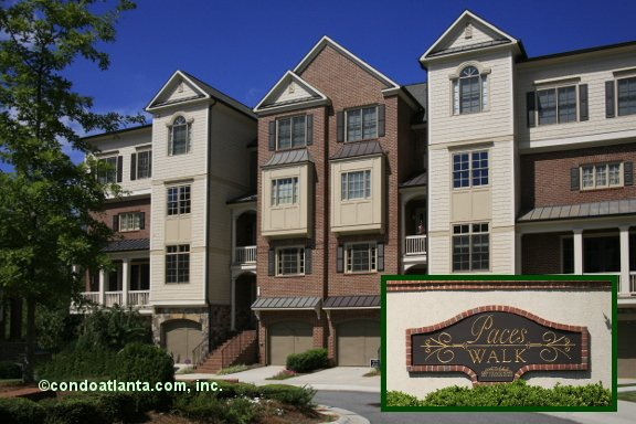 Paces Walk Townhomes in Smyrna Georgia