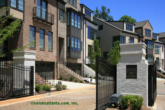 The Gates at Ivy Walk Townhomes in Smyrna Georgia