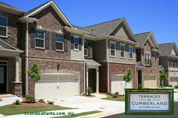 Terraces at Cumberland Townhomes in Smyrna Georgia
