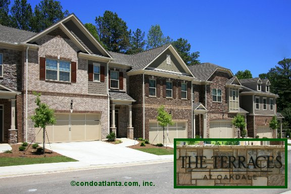 The Terrraces at Oakdale Townhomes in Smyrna Georgia