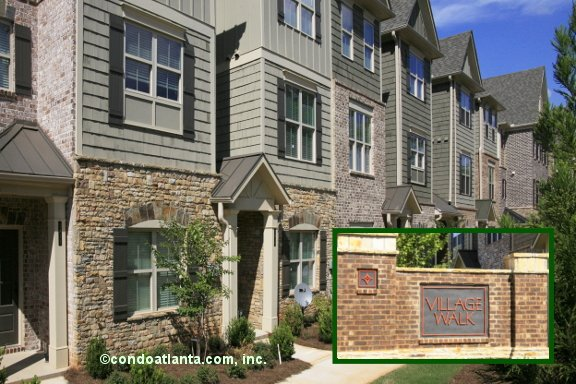 Village Walk Townhomes in Smyrna Georgia