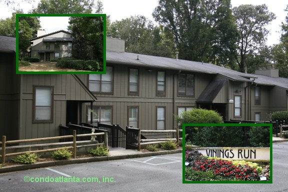 Vinings Run Condominiums in Smyrna Georgia