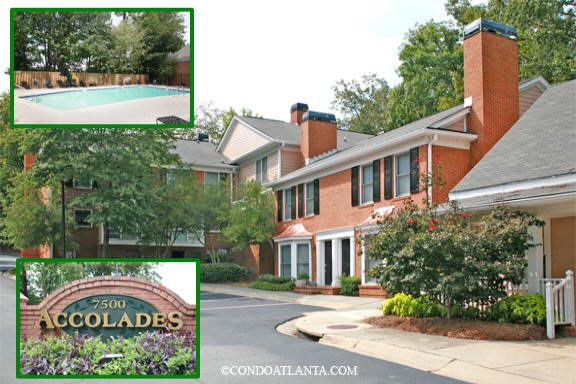 The Accolades Townhomes in Sandy Springs Georgia