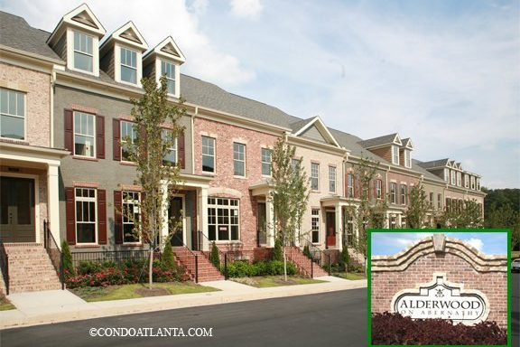Alderwood on Abernathy Townhomes in Sandy Springs Georgia