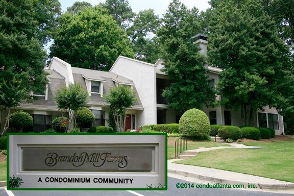 Brandon Mill Farms Condominiums in Sandy Springs Georgia