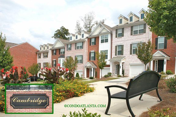 Cambridge Townhomes in Sandy Springs Georgia