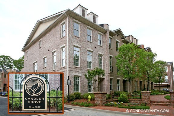 Candler Grove Townhomes in Decatur Georgia