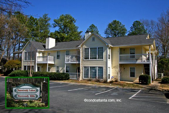 Dunwoody Hills Condominiums in Sandy Springs Georgia