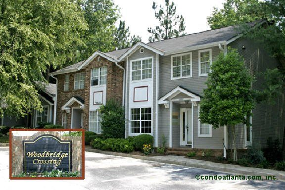 Woodbridge Crossing Townhomes in Atlanta Georgia
