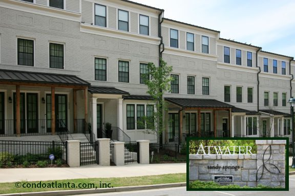 Atwater Townhomes For Sale in Sandy Springs GA