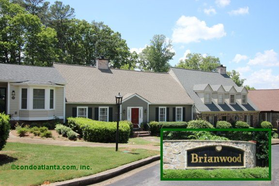 Brianwood Townhomes in Atlanta Georgia