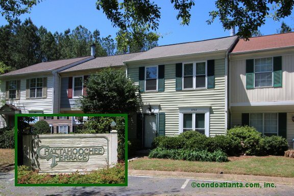 Chattahoochee Terrace Townhomes For Sale In Sandy Springs