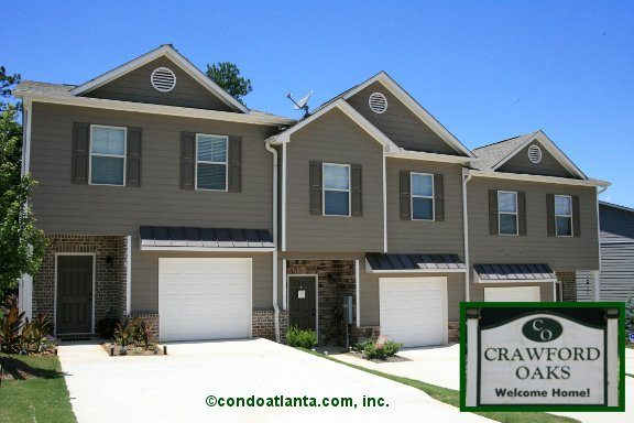 Crawford Oaks Townhomes in Oakwood Georgia