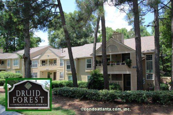 Druid Forest Condominiums in Atlanta Georgia