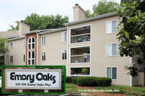 Emory Oaks Condominiums in Decatur Georgia