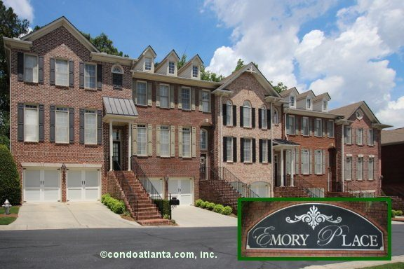 Emory Place Townhomes in Atlanta Georgia
