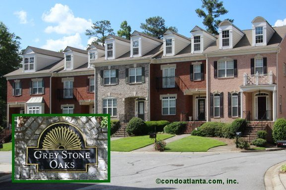 Greystone Oaks Townhomes in Atlanta Georgia