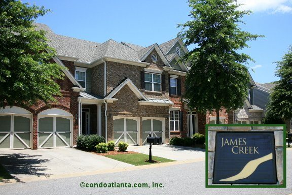 James Creek Townhomes in Cumming Georgia