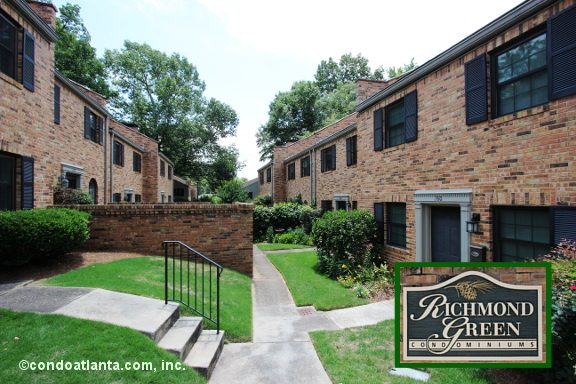 Richmond Green Townhomes in Decatur Georgia
