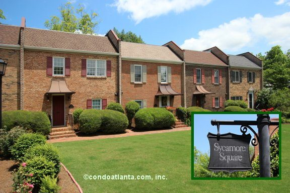 Sycamore Square Townhomes in Decatur Georgia